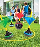 Outdoor Backyard Lawn Game for Kids 6 Pcs Set Best Fun Family Outside Activities Dart Toss Children Boys Girls Yard Jarts Games for Parties Tailgates Summer Camp Barbecues Events by Perfect Life Ideas