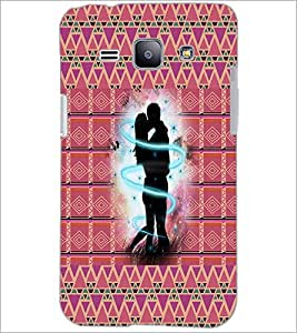 PrintDhaba Couple D-4563 Back Case Cover for SAMSUNG GALAXY J1 (Multi-Coloured)