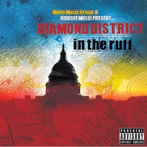 Cover art for D.C. rap group Diamond District's 2009 album