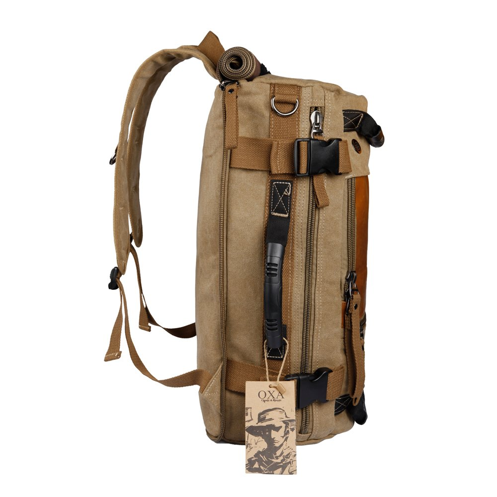 OXA Vintage Canvas Travel Backpack 2