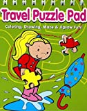 Travel Puzzle Pad Green