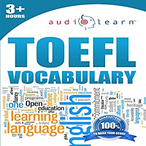 2012 TOEFL Vocabulary Audio Learn Audiobook