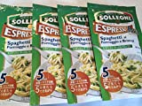 エスプレッソパスタ スパゲッティチーズ&ブロッコリ90g X4個セット ソルレオーネ