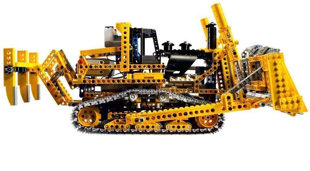 lego technik radlader lego technic 8275 rc bulldozer. Black Bedroom Furniture Sets. Home Design Ideas