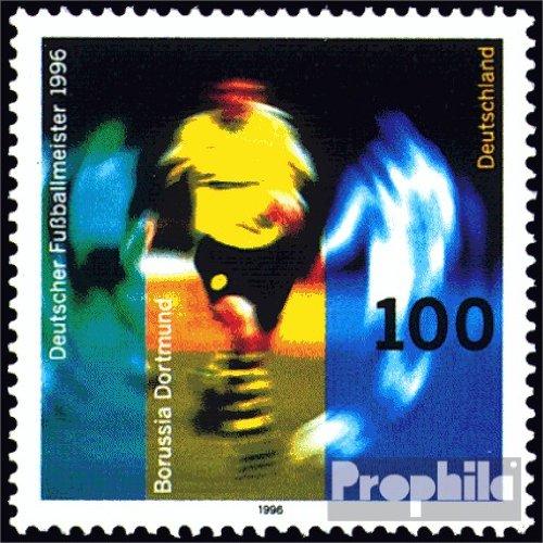 BRD (BR.Deutschland) 1879 (kompl.Ausgabe) postfrisch 1996 Borussia Dortmund (Briefmarken für Sammler)