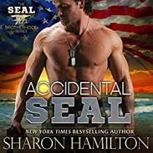 Accidental SEAL: SEAL Brotherhood, Book 1 Audiobook by Sharon Hamilton Narrated by J. D. Hart