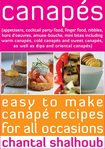 Cookbooks list the best selling party planning cookbooks for Canape cookbook