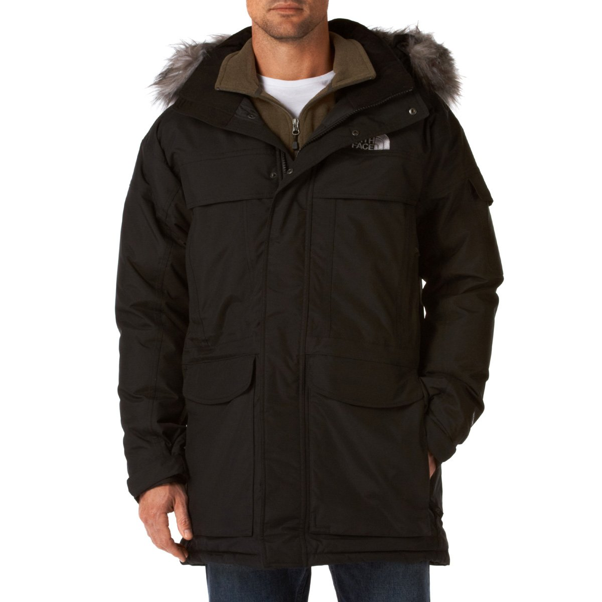 The North Face Men's McMurdo Parka tnf black