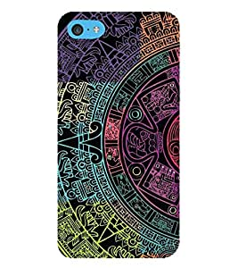 HiFi Designer Phone Back Case Cover Apple iPhone 6s Plus :: Apple iPhone 6s+ ( Colorful Pattern Design Art Tattoo )