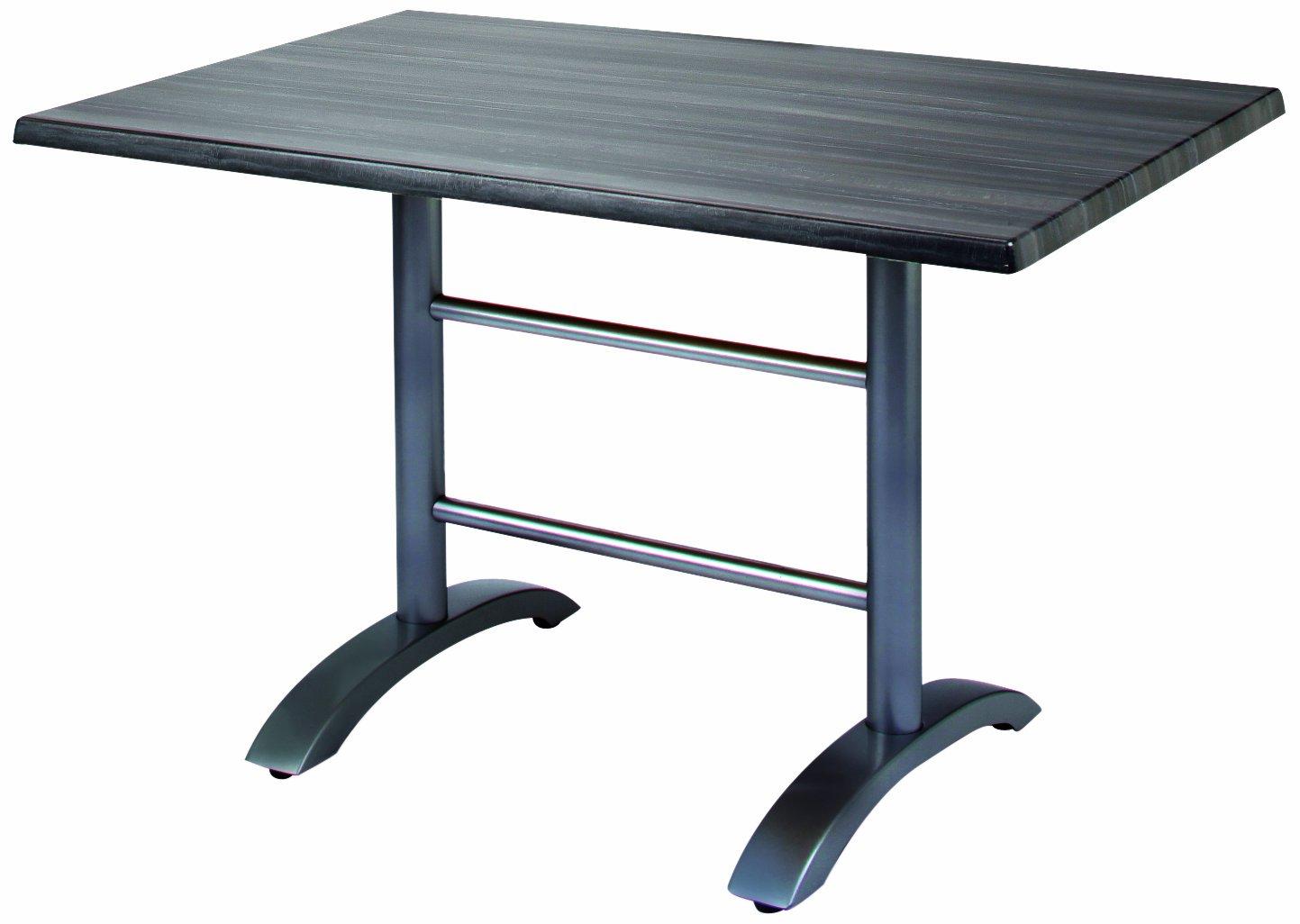 BEST 43541557 Tisch Maestro rechteckig 120 x 80 cm, anthrazit / Tempera günstig kaufen