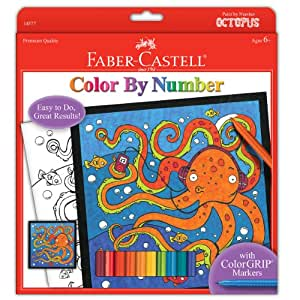 Buy Faber And Castell Color By Number Octopus Online At Low Prices In India