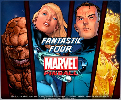 Marvel Pinball Fantastic Four Table [Online Game Code]