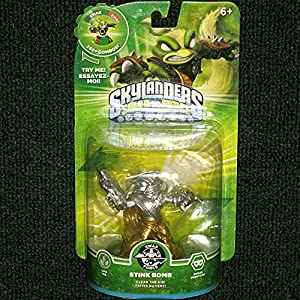 Skylanders SWAP Force Stink Bomb SILVER and GOLD Metallic Variant
