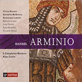 Arminio, ACT III: Ministri, alla mia morte