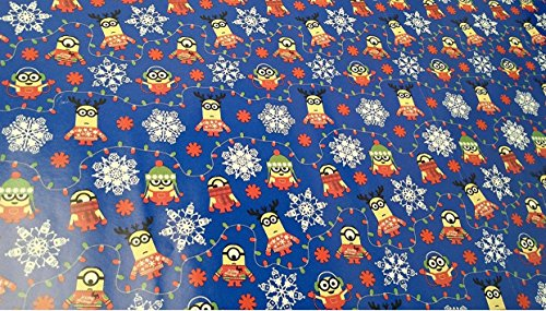 Christmas Wrapping Despicable Me Minions Holiday Paper Gift ...