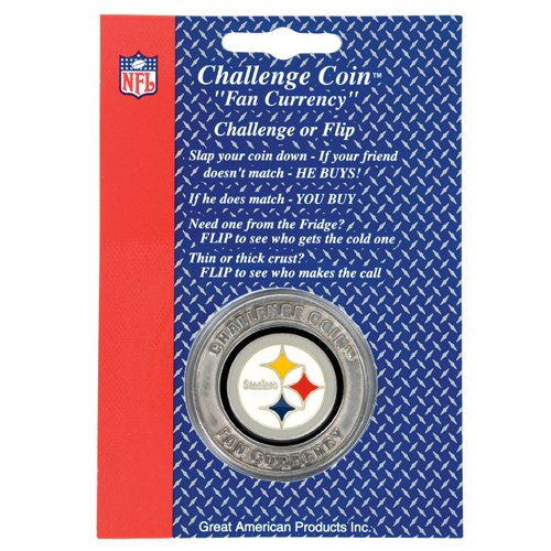 Pittsburgh Steelers NFL Challenge Coin Lucky Poker Chip - tenoops a4285ded4