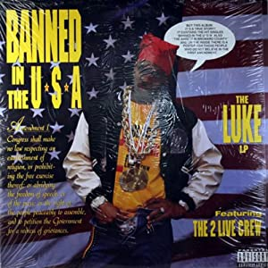 2 live crew banned in the usa vinyl music. Black Bedroom Furniture Sets. Home Design Ideas