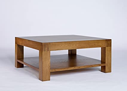 Rustic Grange Santana Rustic Oak Square Coffee Table