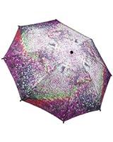 Galleria Monet's Garden Folding Umbrella - Monets Garden
