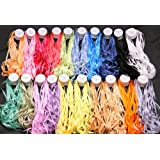 New ThreadNanny 20 Spools of 100% Pure Silk Ribbons - 4mm x 10 Meters