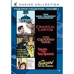 Film Noir Collection – Volume One