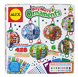 ALEX Toys - Craft, Very Merry Ornaments, 189X