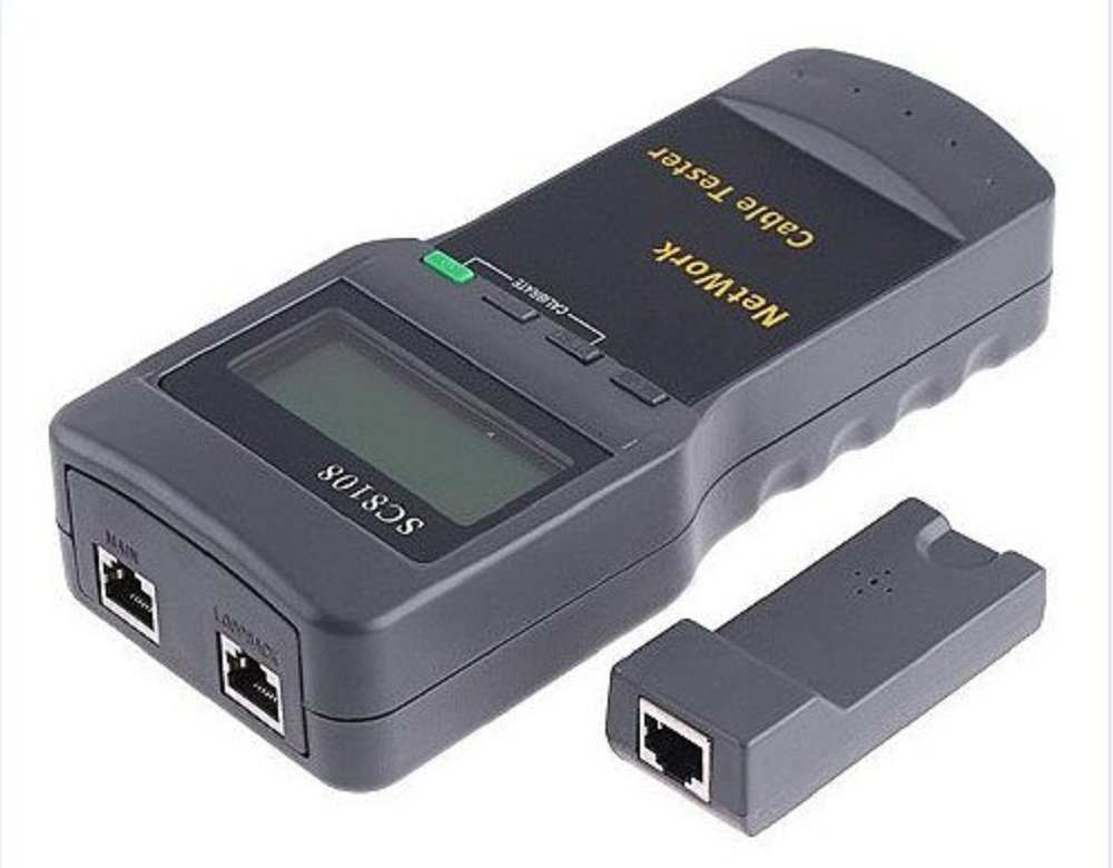 SC 8108 MULTIFUNCTIONAL NETWORK CABLE TESTER at Best ...