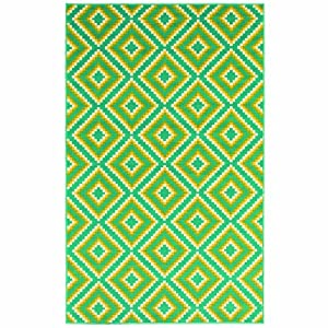 Shaw Al Fresco Jacqui Indoor/Outdoor Rug, 7-Feet 10-Inch by 10-Feet 6-Inch, Turquoise