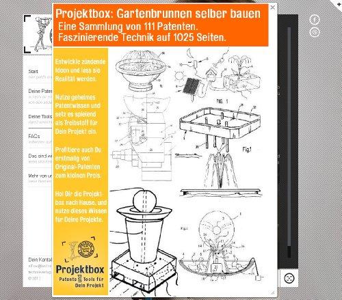 gartenbrunnen selber bauen deine projektbox inkl 111 original patenten bringt dich mit spa. Black Bedroom Furniture Sets. Home Design Ideas