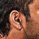 X-1 (Powered by H2O Audio) MM-SP1-BK Momentum Sport In-Ear Headphones (Black)