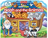 img - for Fisher Price Little People Noah and the Animals (Lift-the-Flap) book / textbook / text book