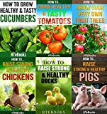 img - for 6 books in 1 - Agriculture, Agronomy, Animal Husbandry, Sustainable Agriculture, Tropical Agriculture, Farm Animals, Vegetables, Fruit Trees, Chickens, ... Tomatoes, Cucumbers (How To Do Agriculture) book / textbook / text book