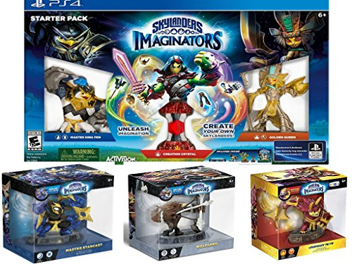 Skylanders Imaginators - PlayStation 4 includes 3 Characters: Wolfgang, Master Tri-Tip and Master Starcast