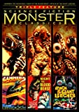 Science Fiction Monster Classics Triple Feature (Gammera The Invincible/Night Of The Blood Beast/Attack Of The Giant Leeches) [DVD] [Region 1] [US Import] [NTSC]