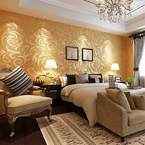 aruhe papier peint intisse design renoncule patate de chambre coucher salon et mur de tv. Black Bedroom Furniture Sets. Home Design Ideas