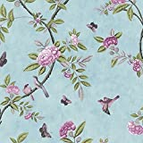 Chinoiserie Wallpaper Colour: Duck Egg