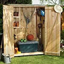 Big Sale Cedar Storage Hutch - Storage Shed