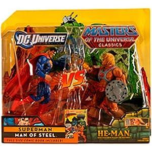 DC Universe & Masters of the Universe Classics Exclusive Action Figure 2Pack Superman Vs. HeMan