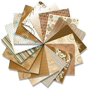 ColorStories 12x12 Scrapbooking Paper Pack: Tales Of Brown