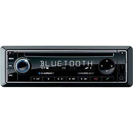 Blaupunkt 1011200210001 Autoradio CD/DVD Noir