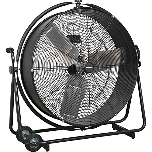 Sealey HVF30S Industrial High Velocity Orbital Drum Fan, 230 V, 30-inch