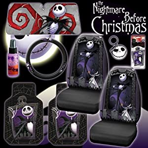 Amazon Com New 9 Pieces Disney Nightmare Before Christmas
