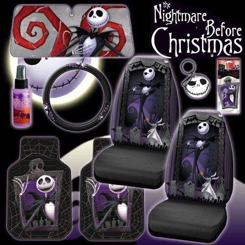 Disney Nightmare Before Christmas Jack Skellington Graveyard Car Auto ...