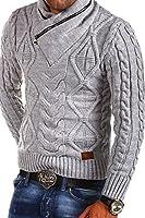 MT Styles - MT-750 - Pull-over en tricot avec col châle