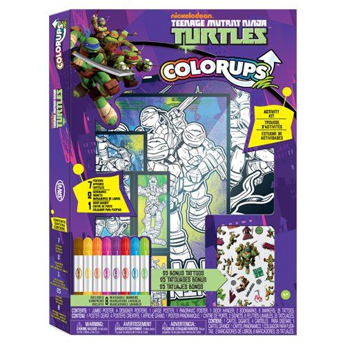 Savvi Teenage Mutant Ninja Turtles MEGA ColorUps Art Kit (Teenage Mutant Ninja Turtles Art compare prices)