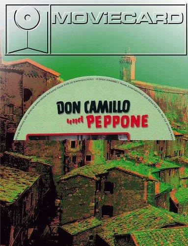 Don Camillo und Peppone Teil 1 - Moviecard (Glückwunschkarte inkl. Original-DVD)