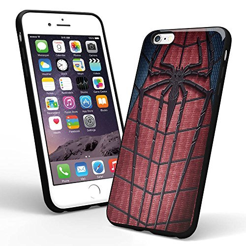 Amazing Spiderman Logo Custom for Iphone Case and Samsung Case (iPhone 6 plus black)