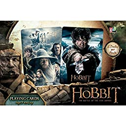 Hobbit Five Armies Playing Cards Double Deck by Go! Games