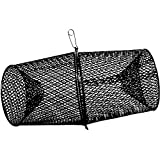 Frabill Minnow Trap Heavy-Duty Vinyl Dipped Steel Mesh Construction (Black)