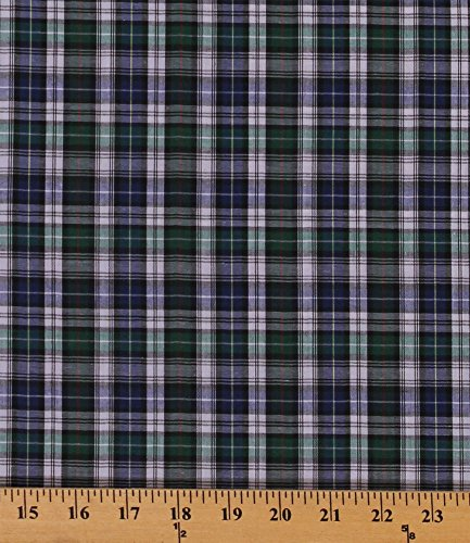 tartan-plaids-forbes-polyester-cotton-blue-green-white-red-yellow-fabric-plaid-check-fabric-by-the-y